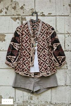 Great look! #batik #casualwear