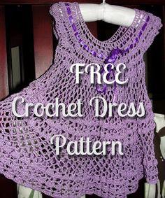 In Karapoozville: Crochet summer baby dress