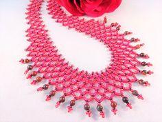 Rood Geschenk voor Vrouw Bib Juwelen voor Haar Bib Ketting