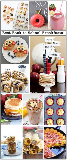 Huge list of back to school breakfast ideas. #HeresToFirsts AD