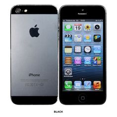 "Apple® iPhone® 5 iOS 7 Dual-Core 1GHz 16GB 4"" Dual-Camera Smartphone - GSM Unlocked & Refurbished"
