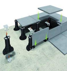 Clip Inférieur pour Bordure -visuel n°2 Deck Flooring, Outdoor Flooring, Surface Drainage, Home Technology, Rooftop Garden, Modern Exterior, Home Projects, Tiles, Backyard
