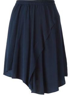Christian Wijnants Pleated Assymetrical Skirt - Spree - Farfetch.com