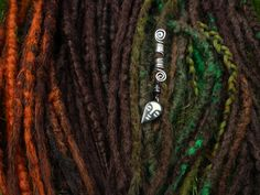 Forest set made with me and Cooper Style Dread Witch's Synthetic Dreads
