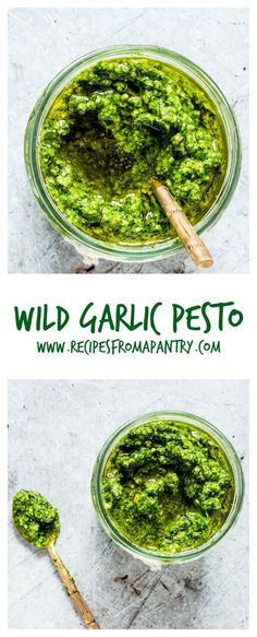 Looking for an awesome Wild Garlic Pesto Recipe? Well, this one needs only 6 ingredients and your food processor! Freezer friendly, budget savvy, super quick this homemade Ramps Pesto is just what you need. Ramp Recipe, Pesto Recipe, Vegetarian Recipes Easy, Cooking Recipes, Healthy Recipes, Crockpot Recipes, Delicious Recipes, Healthy Foods, Free Recipes