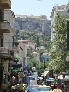 Looking in absolute awe and feeling small and very young... #athens