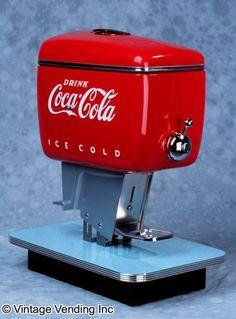 coca cola sewing machine