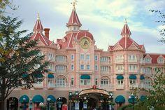 Hotel in Disneyland Paris.