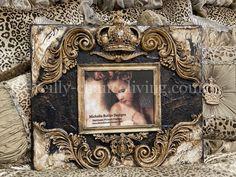 Diy Frame, Frame Shelf, Tuscan Style, Dream Decor, Painting Techniques, Old World, Butler, Framed Art, Picture Frames