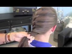 French Twist into Rope Braid   Back to School   Cute Girls Hairstyles