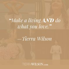"""""""Make a living AND do what you love."""" http://tierrawilson.com/ecourses/how-to-discover-your-profitable-passion/?utm_campaign=coschedule&utm_source=pinterest&utm_medium=Tierra%20Wilson&utm_content=MINI%20e-Course%3A%20How%20To%20Discover%20Your%20Profitable%20Passion"""