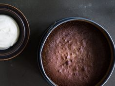 "Swedish ""Gooey"" Chocolate Cake 