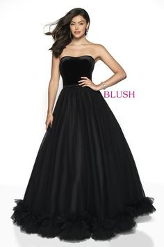 Check out the latest Blush Prom 5726 dresses at prom dress stores authorized by the International Prom Association. Blush Prom Dress, Blush Dresses, Ball Gown Dresses, Strapless Dress Formal, Nice Dresses, Formal Dresses, Prom Dress Stores, Prom Dress Shopping, Designer Prom Dresses