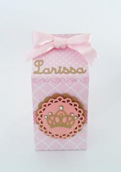 Caixa Milk Festa Princesa