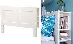 We all love a good IKEA hack and these 10 genius IKEA products will make life so much easier! Ikea Storage Bed, Storage Shelves, Home Organization, Organizing, Home Hacks, Small Rooms, New Homes, Ikea Ideas, Ikea Hacks