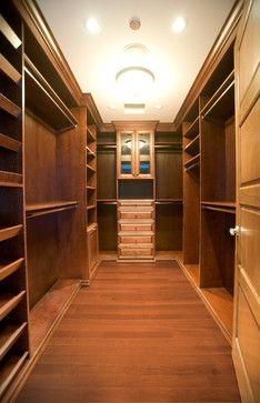 Walking Closet Storage & Closets Design Ideas, Pictures, Remodel and Decor