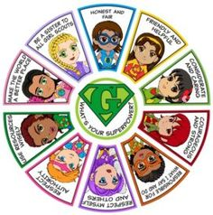 The Girl Scout superhero patch group has all 11 patches for one low price. The perfect reward for for Daisies and Brownies who complete all 10 petal and badge downloads.  Patches and downloads only available at MakingFriends.com