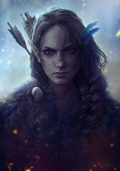 Critical Role Fan Art Gallery VII: The Ink Awakens | Geek and Sundry | @Mikandii, Vex'ahlia