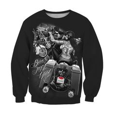 Skull Hoodie, Skull Shirts, 3d T Shirts, Designer Jackets For Men, Cool Baby Stuff, Hoodies, Sweatshirts, Stretch Fabric, Im Not Perfect
