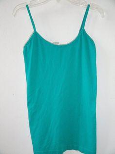 Womens Derek Nylon Teal Camisole Size M  | eBay
