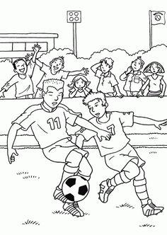 Fußball 19 Ausmalbilder