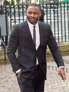 Idris Elba, who portrayed the beloved South African leader in last year's film Mandela: Long Walk to Freedom, attends his memorial in London. http://www.people.com/people/gallery/0,,20792053,00.html#30112955
