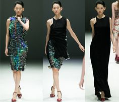 Hussein Chalayan's transforming dresses at Audi Fashion Festival - Rock The Trend - Rock The Trend
