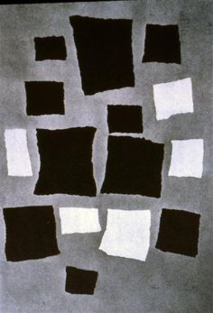 1916-1917 Squares or Rectangles arranged according to Laws of Change - Jean Arp. Dadaísmo