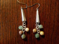 Check out this item in my Etsy shop https://www.etsy.com/listing/460714994/aventurine-and-ukanite-dangles-1920s
