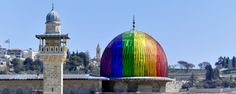 Gay Vandals Give Al-Aqsa Mosque 'Rainbow Makeover' on New Year's Eve