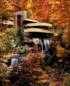 Fallingwater - Beautiful to visit in the Fall