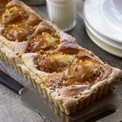Tarte à la poire et au mascarpone - une recette Tarte sucrée - Cuisine