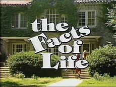 the Facts of Life, my older sister used to turn Scooby Doo off the tv while I was watching it so she could watch this instead