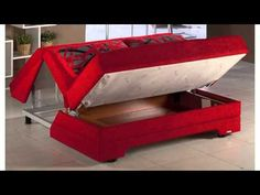Twist Love Seat Story Red Sleeper By Istikbal Furniture