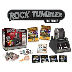 Rock Tumbler - Pro Series by Discover with Dr. Cool - $119.99