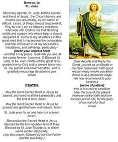 Unfailing prayer to saint jude thank you st jude for all st jude is the patron saint of desperate and or impossible cases he has helped me through desperate times and this is a very powerful 9 day novena for thecheapjerseys