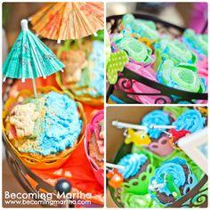 Becoming Martha: Summer Themed Cupcakes