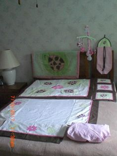 Pam Grace Creations Lady Bug Lucy Nursery Bedding/Accessories Set