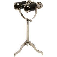 Vance Tabletop Binoculars On Stand
