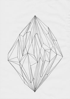 Love the shapes within this drawing.
