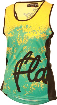 d7f0b9f53 Roost Tank Jersey- Teal by Flare Clothing Dirty Jane Women s Mountain Bike  Apparel