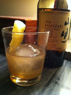 the Improved Japanese Cocktail swaps the traditional brandy for a Japanese whisky and mixes it with orgeat and bitters