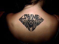 dimond tattoos 12