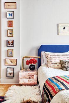 cozy bright bedroom