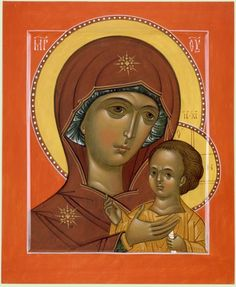 Petrovskya icon of the mother of God written by zoran zivkovic Religious Icons, Religious Art, Madonna, Religious Paintings, Russian Orthodox, Orthodox Icons, Mother Mary, Text Color, Our Lady