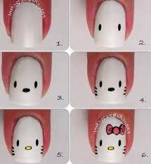 Resultado de imagen para uñas decoradas paso a paso