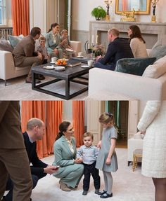"""1,442 Likes, 13 Comments - Royal Addicted (@royaladdicted2) on Instagram: """"#New The Duke and Duchess of Cambridge, Crown Princess Victoria and Prince Daniel at Haga Palace,…"""""""