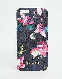 Image 1 of Ted Baker Fuchsia Print Mini Iphone 6 Case