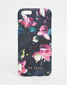 Ted Baker Fuchsia Print Mini Iphone Case