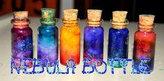 TUTORIAL: Galáxia engarrafada / Nebula Bottle ~ Faça você mesmo ~